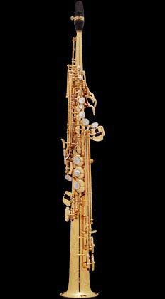 Selmer Super Action 80 Series II B-flat Soprano Saxophone Gold Lacquer Engraved (GG)