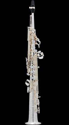 Selmer  Super Action 80 Series II B-flat Soprano Saxophone Silver Plated Engraved (AG)
